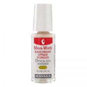 محلول بهبود دهنده رنگ ناخن ماوا وايت ماوالا
