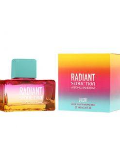 ادوتویلت زنانه آنتونیو باندراس مدل Radiant Seduction Blue حجم ۱۰۰ میل