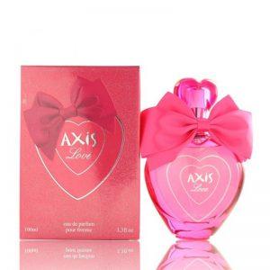 ادوپرفیوم زنانه اکسیس مدل Axis Love حجم ۱۰۰ میل