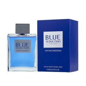 ادوتویلت مردانه آنتونیو باندراس مدل Blue Seduction ۲۰۰ میل