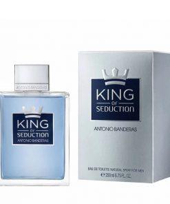 ادوتویلت مردانه آنتونیو باندراس مدل King of Seduction حجم ۲۰۰ میل
