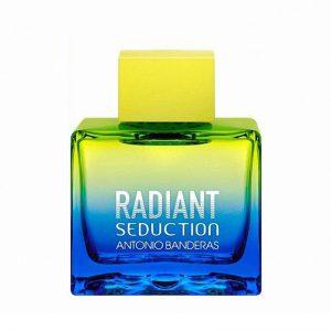 ادوتویلت مردانه آنتونیو باندراس مدل Radiant Seduction Blue حجم ۱۰۰ میل