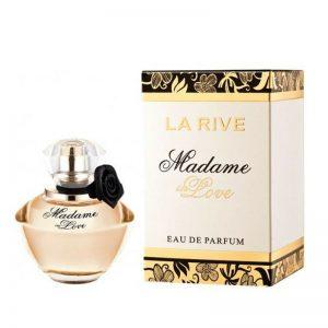 ادوپرفیوم زنانه لا رایو مدل Madame in Love حجم ۹۰ میل