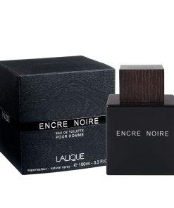 ادوتویلت مردانه لالیک مدل Encre Noire حجم ۱۰۰ میل