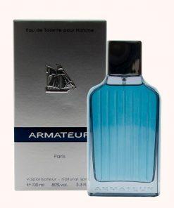 ادوتویلت مردانه پاریس بلو مدل Armateur حجم ۱۰۰ میل