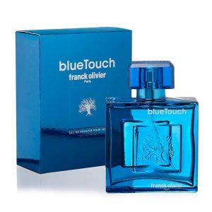 ادوتویلت مردانه فرانک اولیویه مدل Blue Touch حجم ۱۰۰ میل