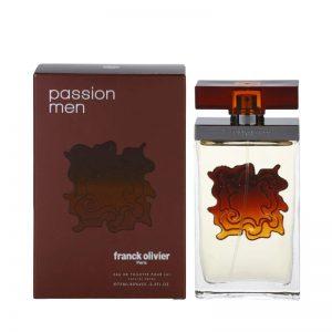 ادوتویلت مردانه فرانک اولیویه مدل Passion Men حجم ۷۵ میل