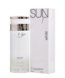 ادوتویلت مردانه فرانک اولیویه مدل Sun Java White حجم ۷۵ میل