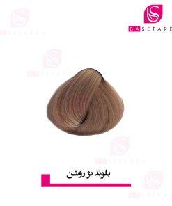 رنگ موی بلوند بژ روشن دوپیر