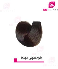 رنگ موی بلوند زیتونی متوسط استایکس