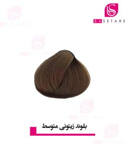 رنگ موی بلوند زیتونی متوسط دوپیر
