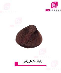 رنگ موی بلوند شکلاتی تیره دوپیر