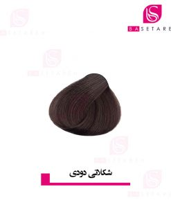 رنگ موی شکلاتی دودی دوپیر
