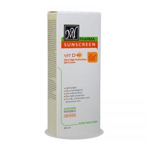 ضد آفتاب آکنه سلوشن فاقد چربی مای MY SPF50