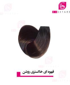 رنگ موی قهوه ای خاکستری روشن استایکس