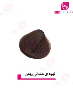 رنگ موی قهوه ای شکلاتی روشن دوپیر