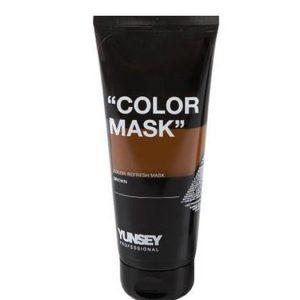 ماسک رنگساژ قهوه ای