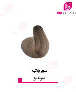 رنگ موی سوپر پلاتینه بلوند بژ ایتالی رژ