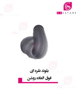 رنگ موی بلوند نقره ای فوق العاده روشن ایتالی رژ