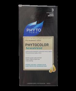 رنگ موی قهوه ای تیره3 phytocolor