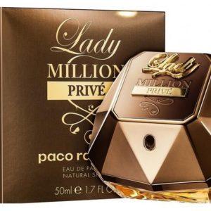 ادوپرفیوم زنانه لیدی میلیون پرایو Paco Rabanne Lady Million Prive