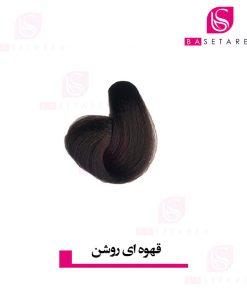 رنگ موی قهوه ای روشن ایتالی رژ
