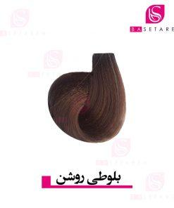 رنگ موی بلوطی روشن