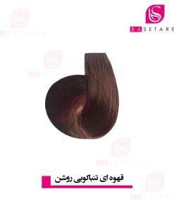 رنگ موی قهوه ای تنباکویی روشن