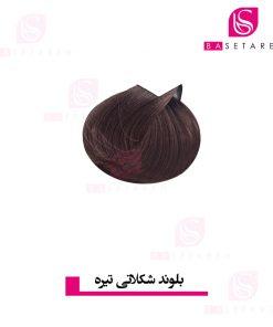 رنگ موی بلوند شکلاتی تیره ترام