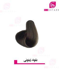 رنگ موی بلوند زیتونی ایتالی رژ
