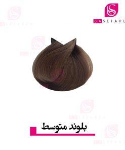 رنگ موی بلوند متوسط ترام