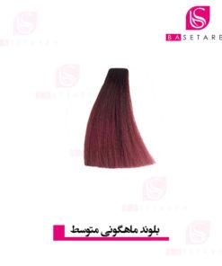 رنگ موی بلوند ماهاگونی متوسط نایس
