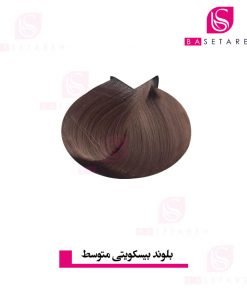 رنگ موی بلوند بیسکویتی متوسط ترام