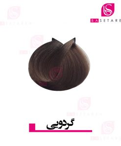 رنگ موی گردویی ترام