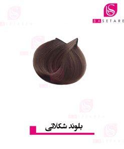 رنگ موی بلوند شکلاتی ترام