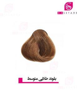 رنگ موی بلوند طلایی متوسط آکوارلی