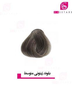 رنگ موی بلوند زیتونی متوسط آکوارلی