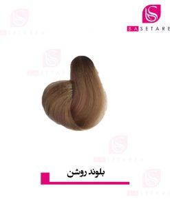 رنگ موی بلوند روشن ایتالی رژ