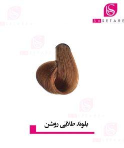 رنگ موی بلوند طلایی روشن ایتالی رژ