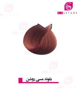 رنگ موی بلوند مسی روشن ترام