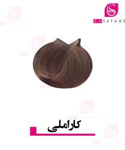رنگ موی کاراملی ترام