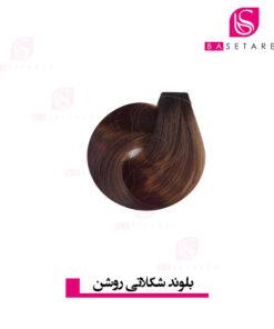 رنگ موی بلوند شکلاتی روشن ریتون