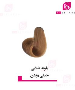 رنگ موی بلوند طلایی خیلی روشن ایتالی رژ