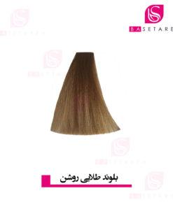 رنگ موی بلوند طلایی روشن نایس