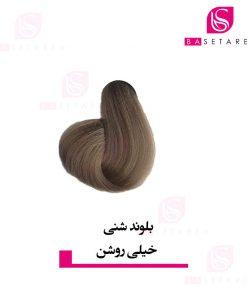 رنگ موی بلوند شنی خیلی روشن ایتالی رژ