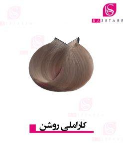 رنگ موی کاراملی روشن ترام