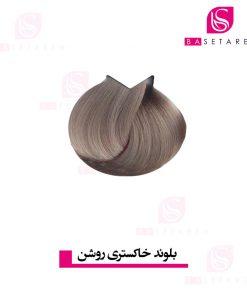 رنگ موی بلوند خاکستری روشن ترام