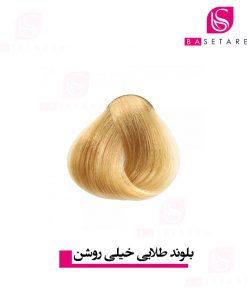 رنگ موی بلوند طلایی خیلی روشن آکوارلی