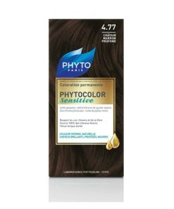 رنگ موی قهوه ای بلوطی تیره4/77 phytocolor