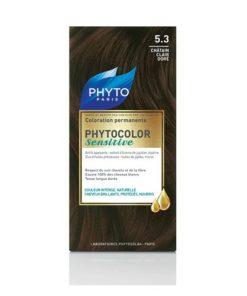 رنگ بلوطی طلایی روشن5/3 phytocolor